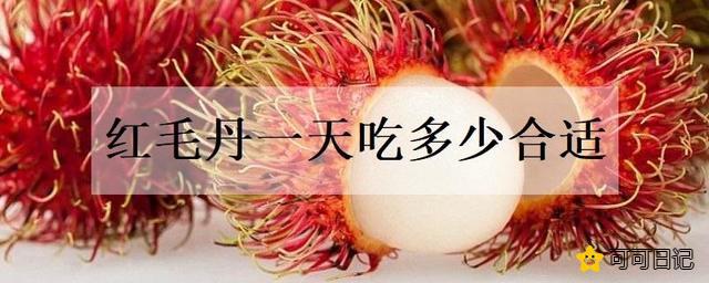 红毛丹一天吃多少合适