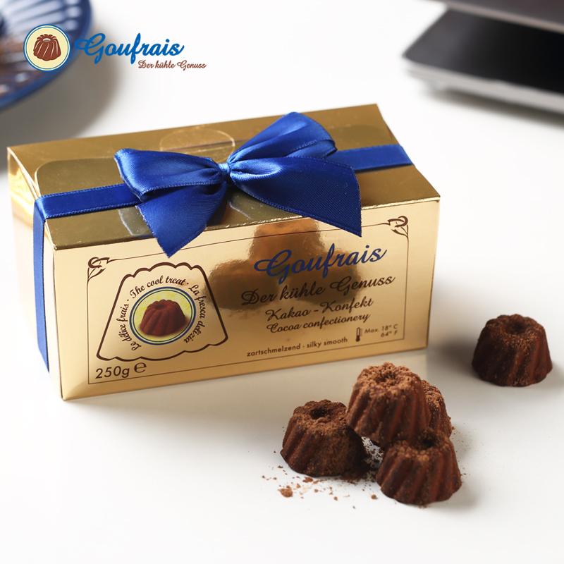 250g德国GOUFRAIS高福瑞斯进口黑松露巧克力